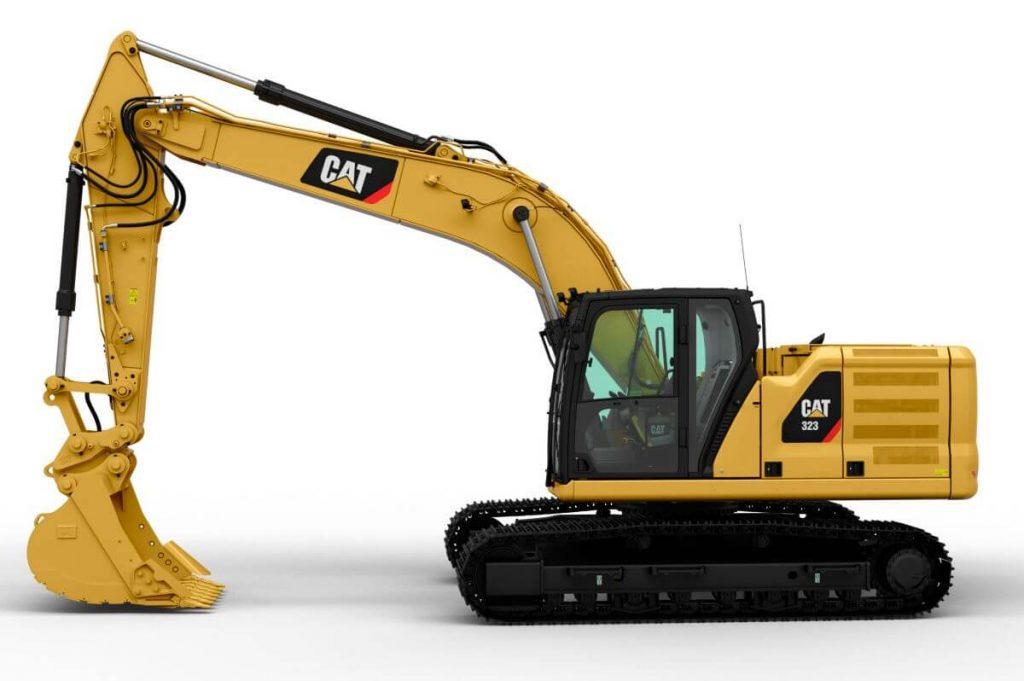Excavator CATERPILLAR HIRDAULIC 323